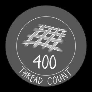 400 thread count icon