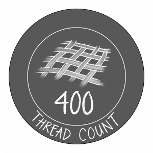 400 thread count icon