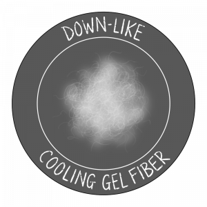 down-like cooling gel icon
