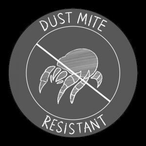dust mite resistant icon