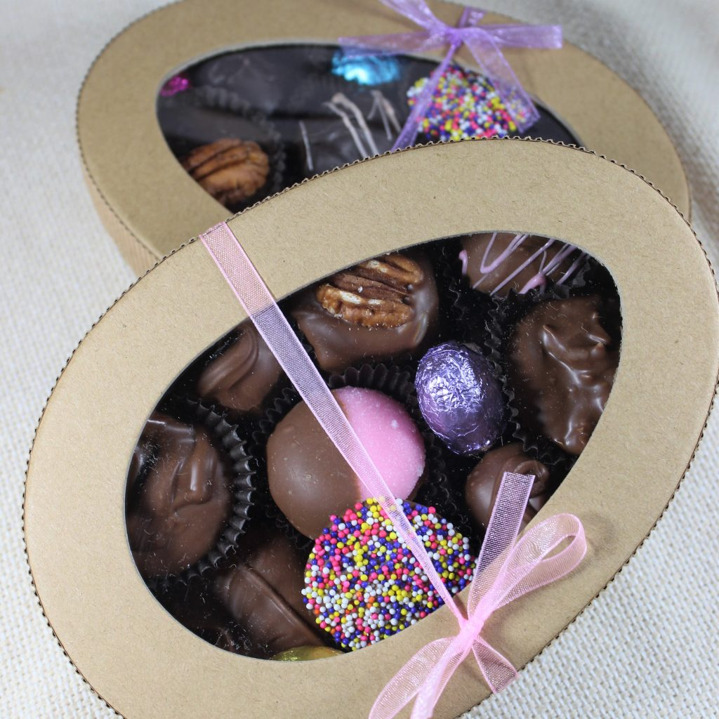Milk or Dark Chocolate Egg Assortment - $18.00