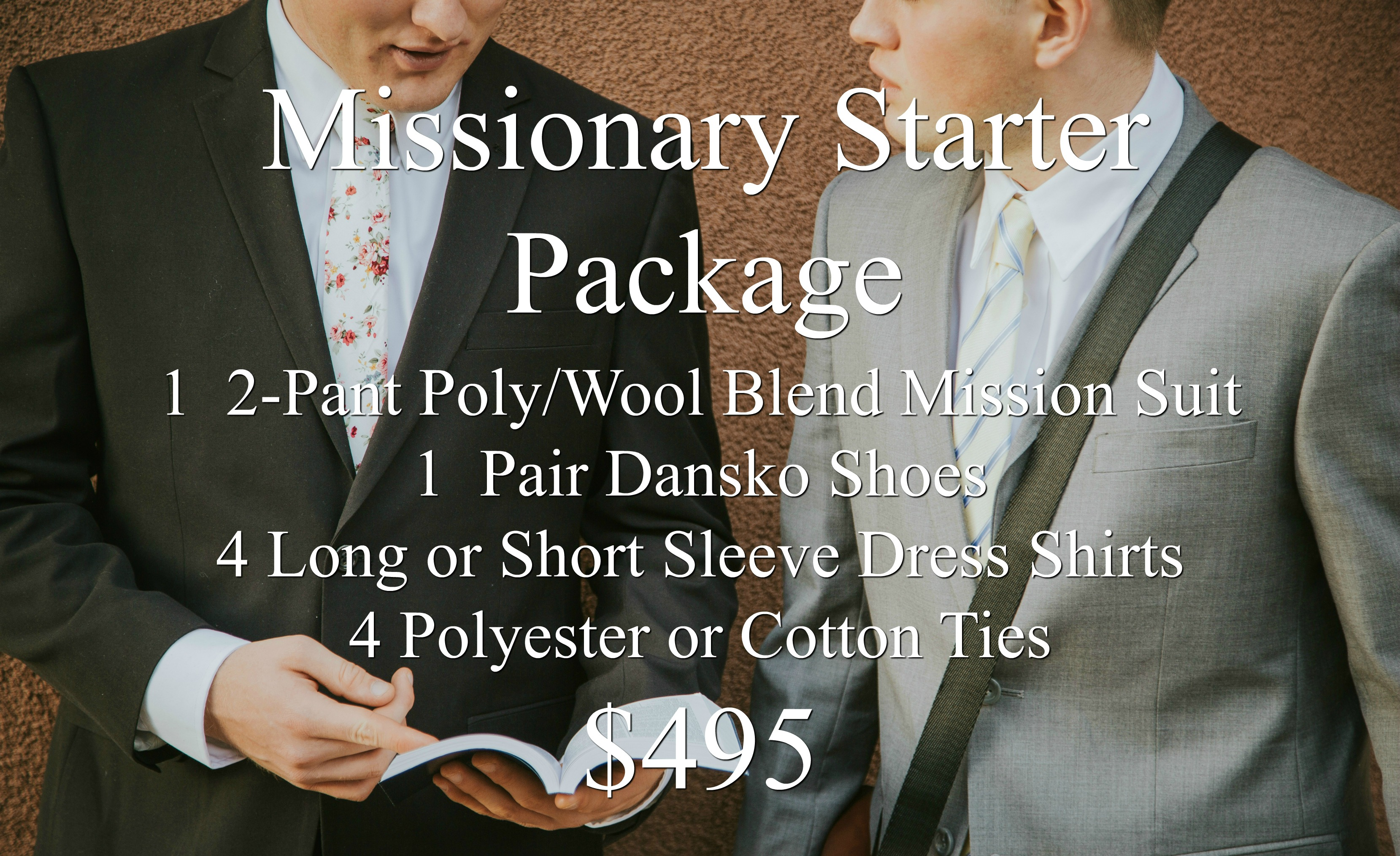 missionarymall missionary starter package
