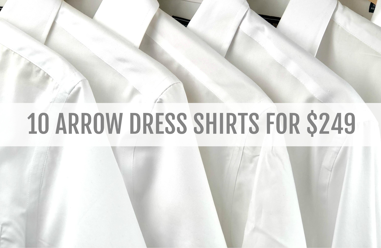 missionarymall arrow dress shirt package