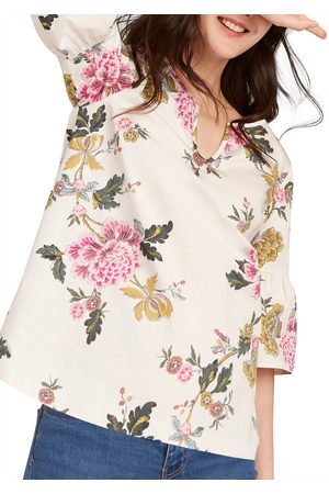 joules-leya-fluted-sleeve-floral-print-top-cream-chinoise