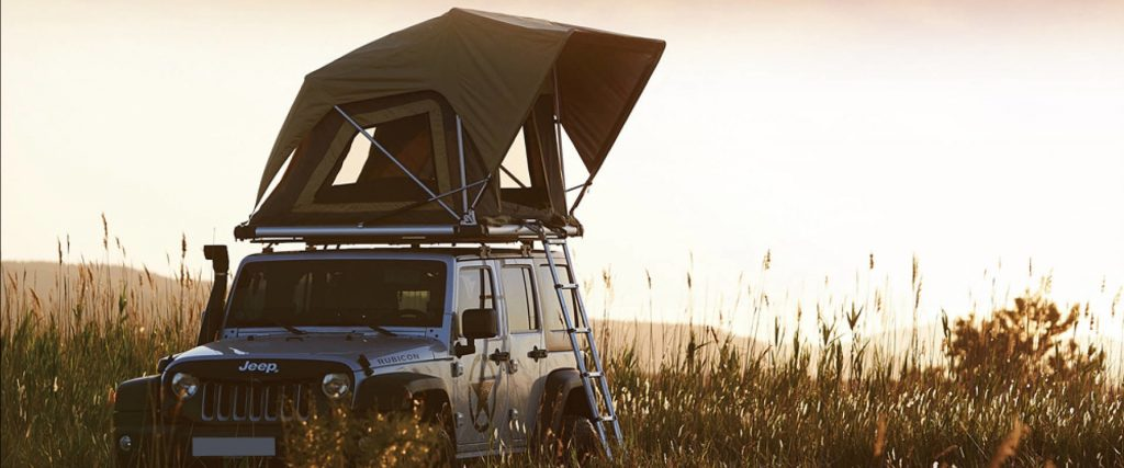 Direct4x4 Accessories UK | 'Normandy' Auto Roof Tent