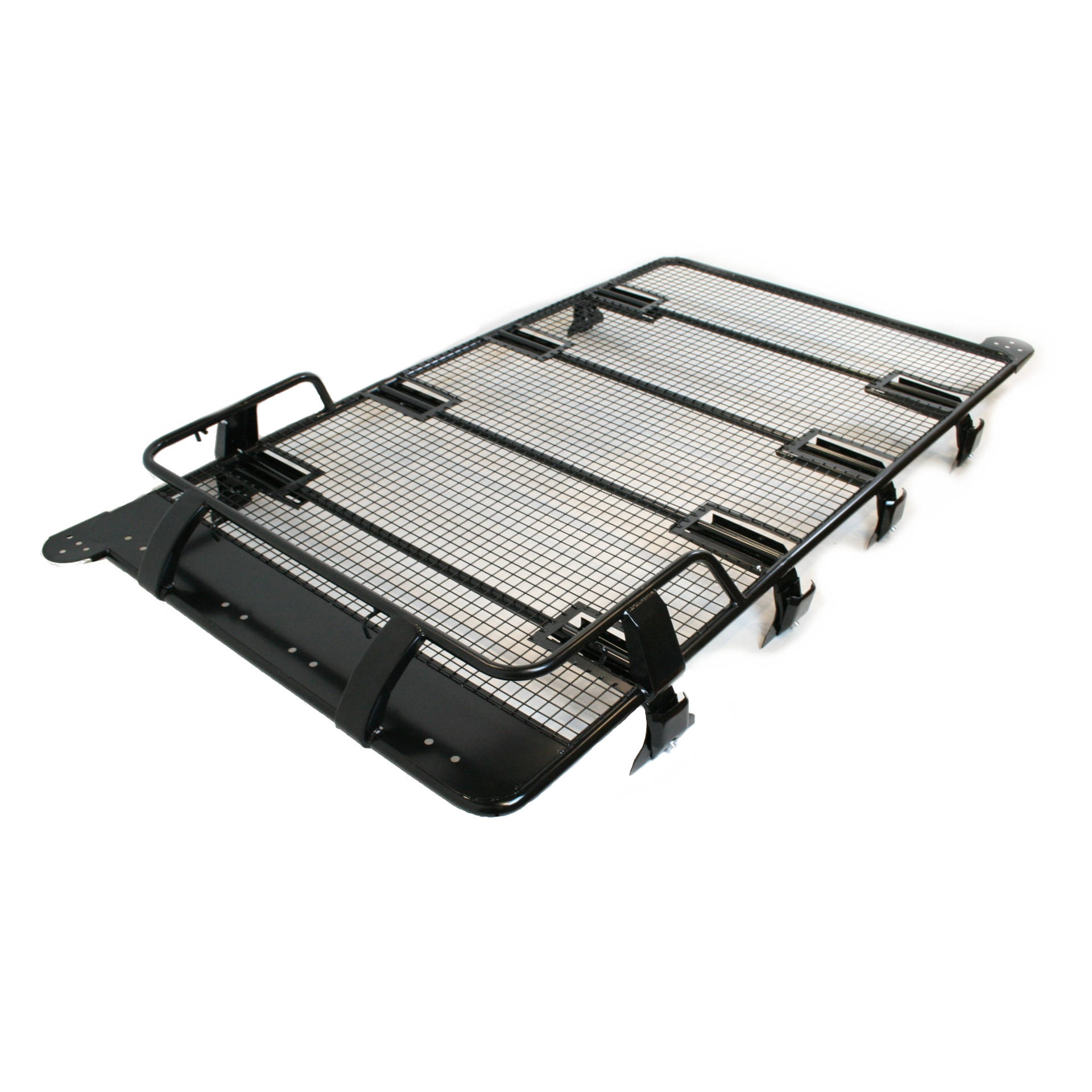 Direct4x4 Accessories UK | Expedition Front Basket Roof Rack