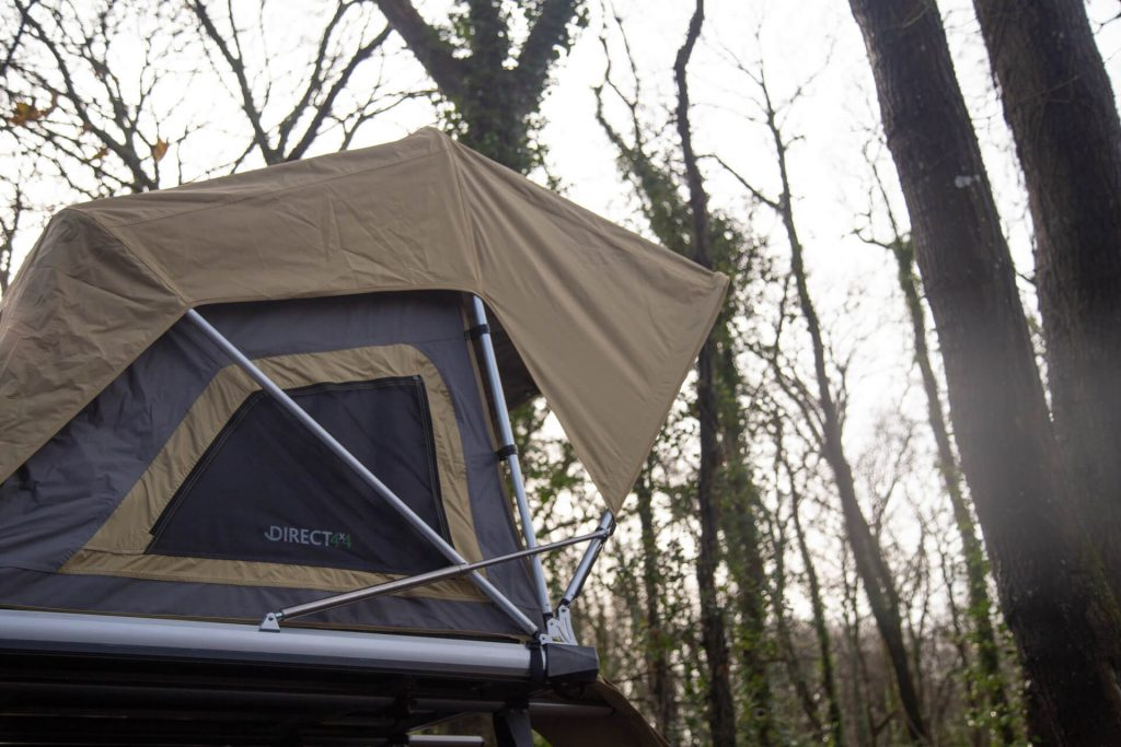Direct4x4 Accessories UK | Normandy Automatic Popup Roof Top Expedition Camping Tent