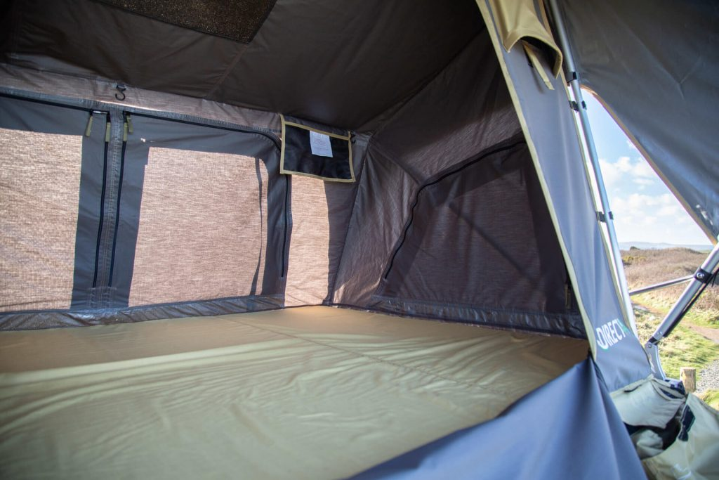 Direct4x4 Accessories UK | Normandy Expedition Roof Top Tent Popup Mechanism