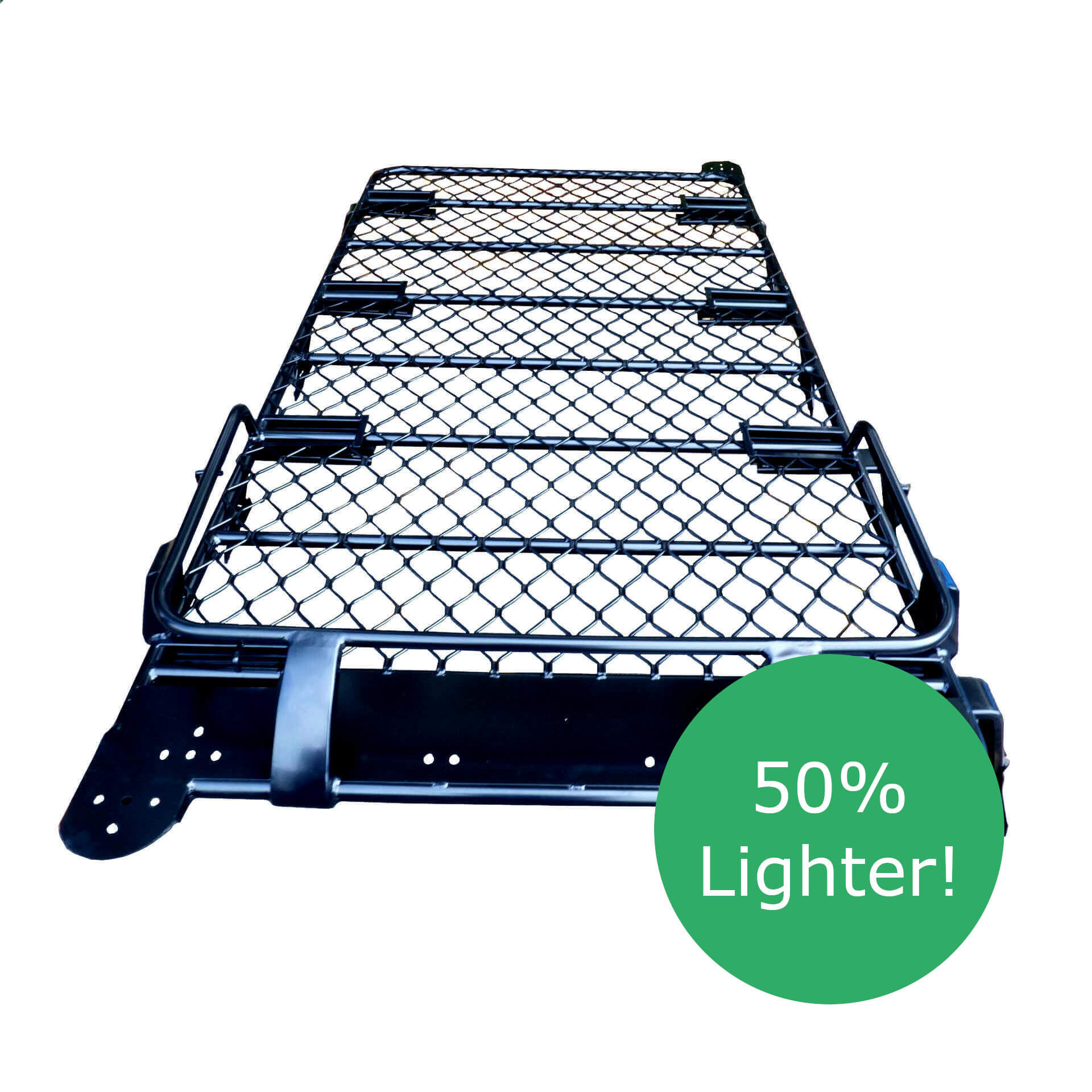 Direct4x4 Accessories UK - Aluminium front basket expedition roof rack
