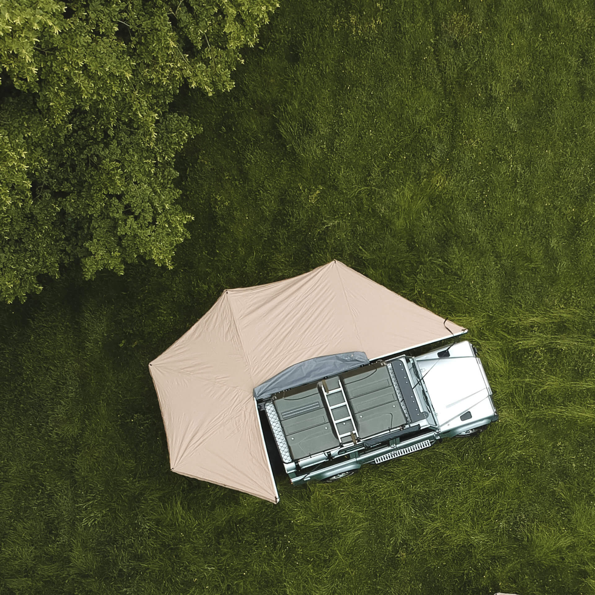Direct4x4 270 Overland Expedition Fold-Out Vehicle Camping Side Awning