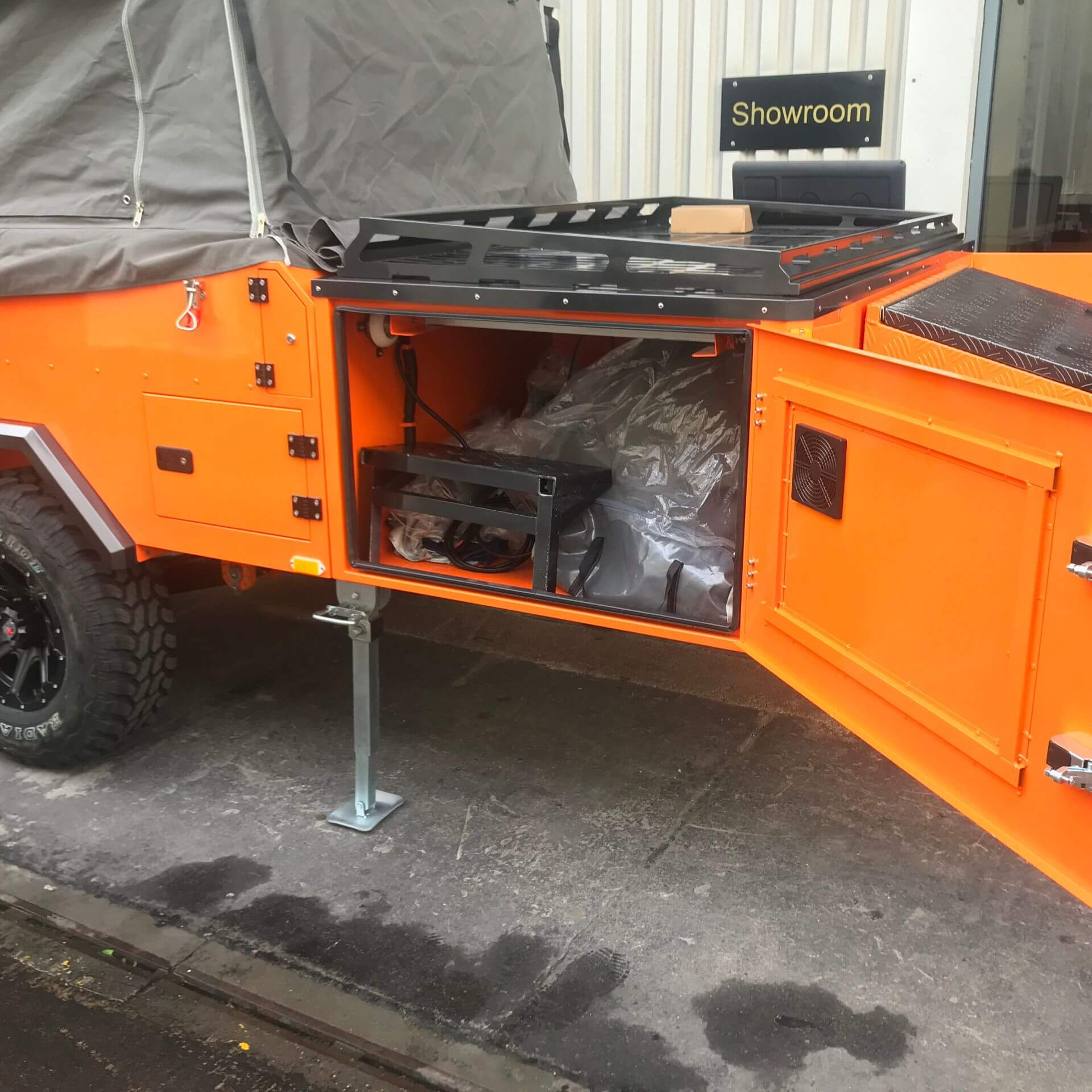 Direct4x4 Goliath Expedition Trailer