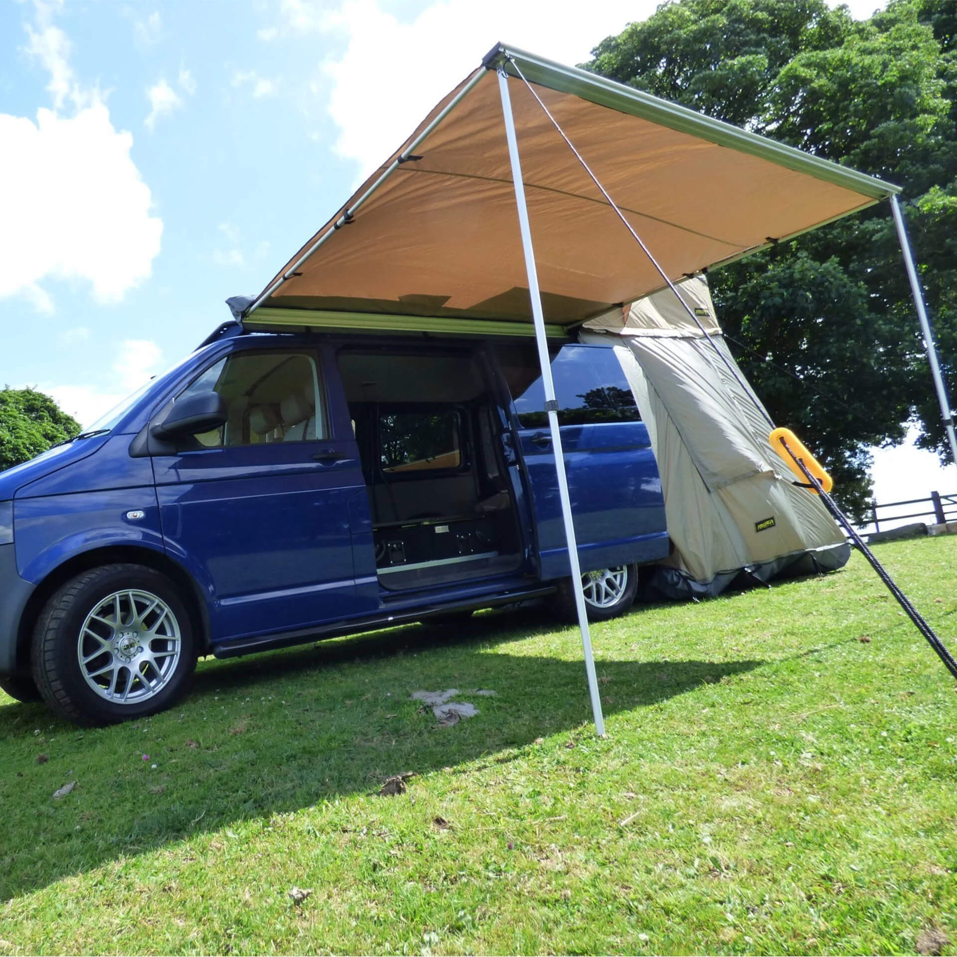 Direct4x4 Overland Expedition Vehicle Camping Side Awnings